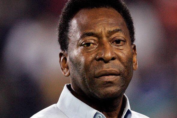 En el Mundial de Sudáfrica, hace apenas unos meses, Pelé y...