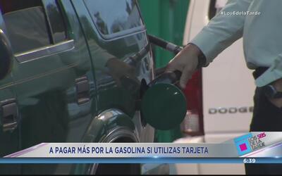 Más cara la gasolina con tarjeta de crédito
