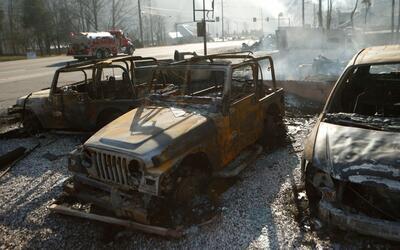 En un minuto: incendios forestales en Tennessee dejan al menos tres muertos
