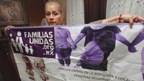 Madre de secuestrado sigue luchando por conocer el paradero de su hijo e...