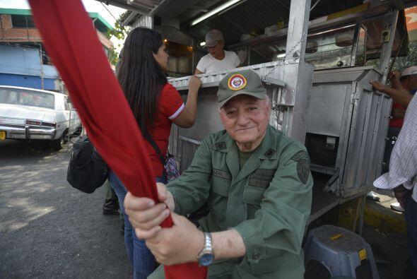 """Convocados a la denominada """"gran toma de Caracas"""", cientos de..."""