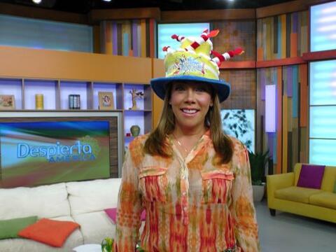 Cynthia Klitbo llegó este miércoles lista para celebrar su...