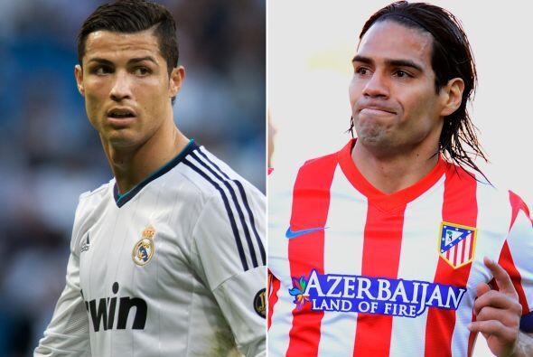(Con información de EFE) Cristiano Ronaldo y Radamel Falcao, arrastran e...