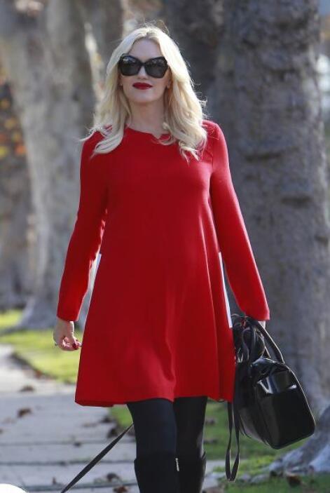 Otra celebridad que se suma a esta lista es la guapísima Gwen Stefan qui...