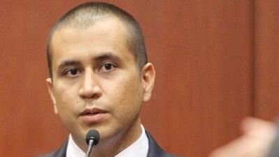 George Zimmerman, durante una audiencia en la Corte que ventila el caso...