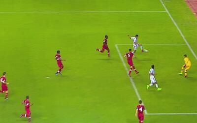 Ronaldo Cisneros coronó una gran jugada de Carlos Antuna para el 2-0 de...