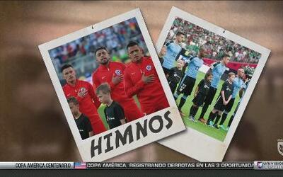 Las postales de la Copa América Centenario: Los Himnos