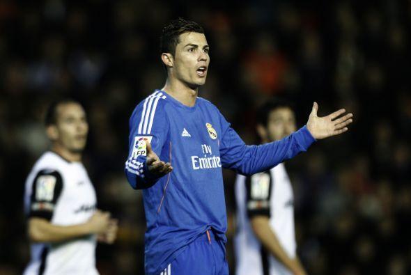 Ni Cristiano Ronaldo se salvaba de la desesperación ante la falta de gol.