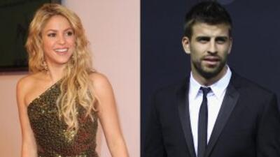 Piqué y Shakira fueron vistos en actitud apasionada.