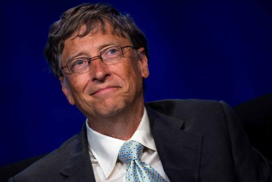 4. BILL GATES  Puesto- Co-presidente de la Fundación Bill y Melinda Gate...