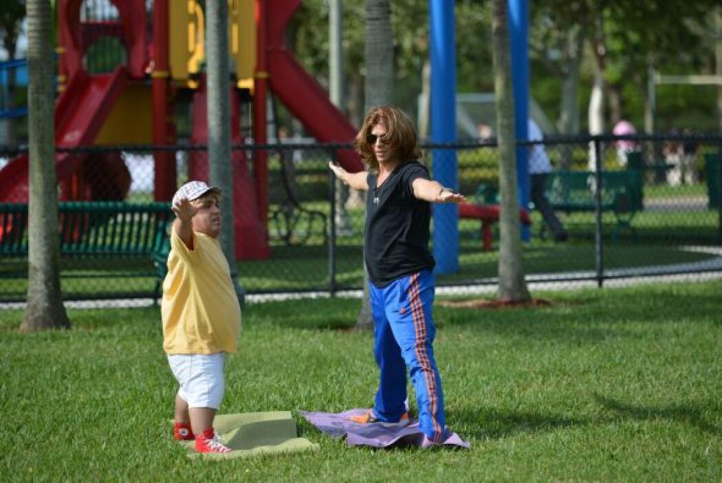 A Rolate le encanta pasar tiempo de calidad con su pequeño hijo, a pesar...
