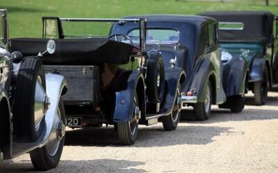 El Rolls Royce20-Ghost Club celebró su reunión anual en los jardines del...