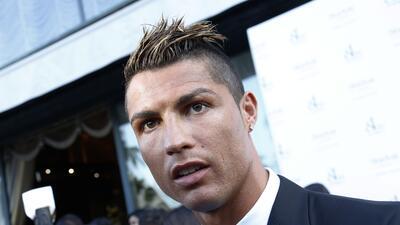 Cristiano Ronaldo en un evento