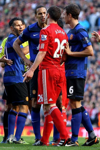 Como siempre pasa en partido importantes, algunos empujones y piernas fu...