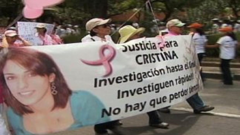 Varias han sido las marchas en reclamo de la aparición de Cristina, la a...