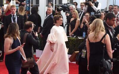 Natalie Portman asistió a la entrega de premios SAG, el pasado 29...