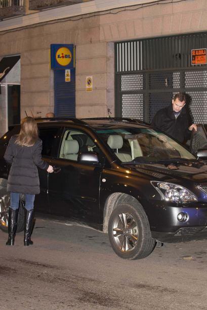 Felipe de Borbón y Letizia Ortiz, los príncipes de Asturias, se dieron u...