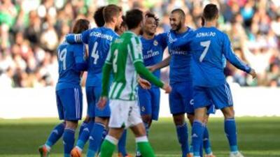 El Real Madrid le puso una manita al Betis.