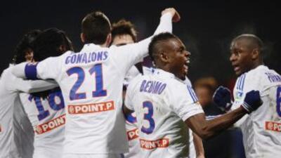 El Lyon es uno de los equipos que logró su pase a semifinales.