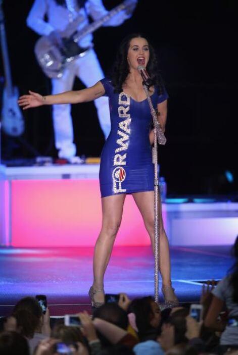 """La cantante interpretó temas como """"Let's Stay Together"""", de Al Green, """"T..."""