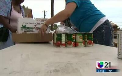 Los residentes de Dos Palos recibieron una mano de ayuda