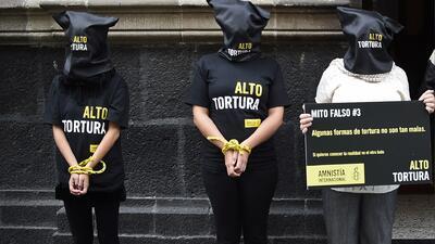 En México se sigue practicando la tortura