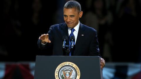 Lo mejor y lo peor del discurso de despedida de Barack Obama