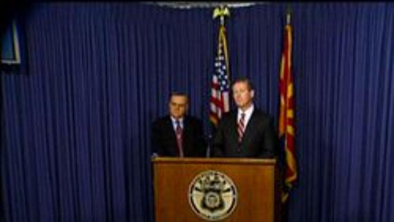 Sheriff Joe Arpaio y procurador Andrew Thomas