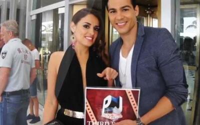 'East Los High' Ray Diaz had a blast in Premios Juventud 2014