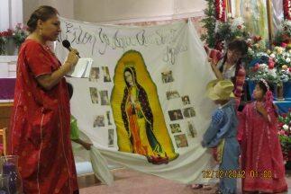 La Virgen de Guadalupe, patroma de las Américas, se ha convertido tambié...