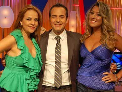Gina y Luisa aprovecharon para tomarse una foto junto a Carlos. Nos vemo...