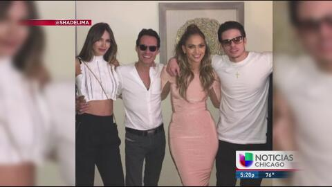 Auriespacio: JLo y Marc Anthony juntos en La Vegas