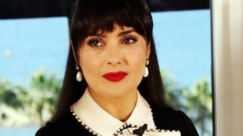 Salma Hayek está muy afectada por el ataque terrorista ocurrido en Manch...
