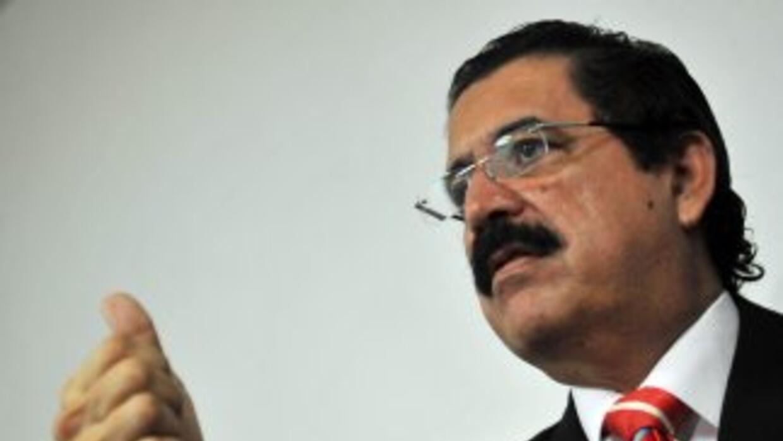 El derrocado ex presidente Manuel Zelaya aseguró que no regresará a Hond...