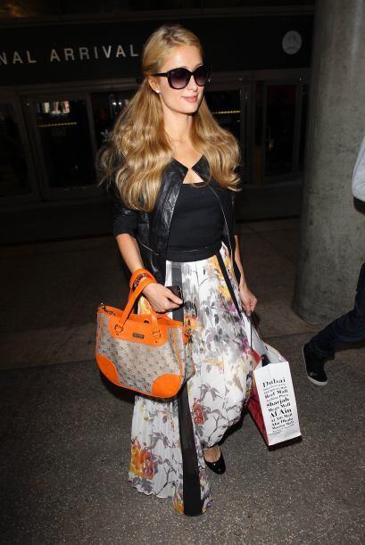 Paris Hilton es otra diva que tiene doble 'estrellita' pues tanto la sem...