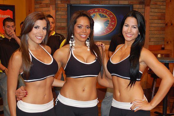 Tres reinas para tu show favorito de los domingos.