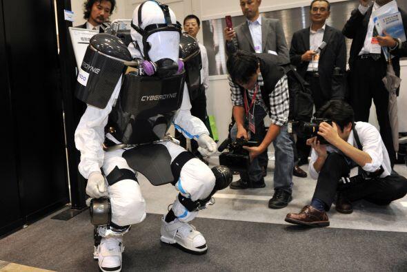 El exoesqueleto mecánico también tiene otros usos, como en...