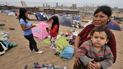 Los afectados por el sismo en Chile dicen que la ayuda es insuficiente