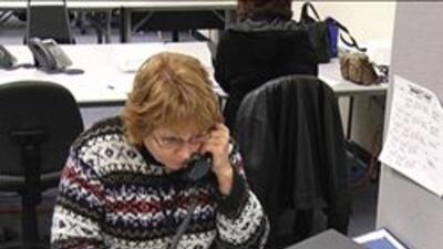Trabajadora del censo