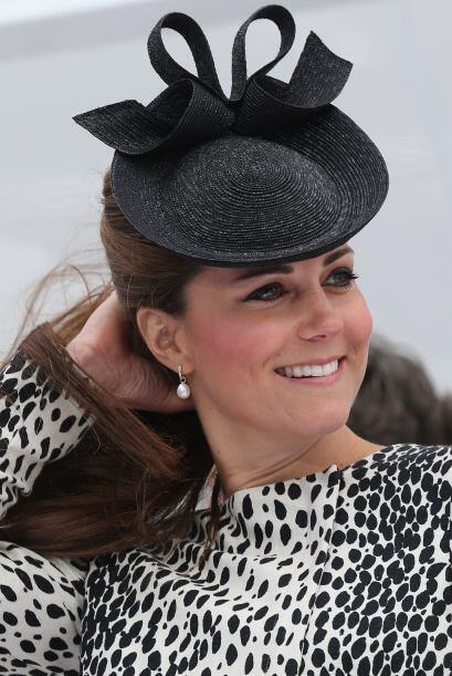Aquí tenemos a la Duquesa en junio de 2013, durante una de sus últimas a...