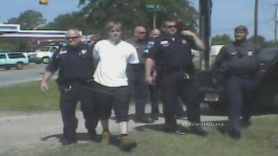 Imágenes de la detención de Dylann Roof