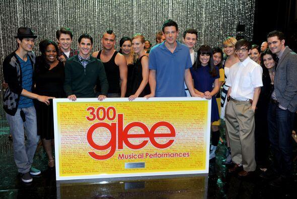 """Seguramente todos sus amigos y compañeros de """"Glee"""" lo..."""