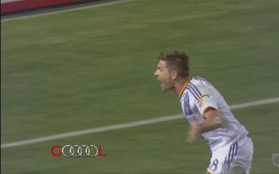 Steven Gerrard anota su primer gol en la MLS con el L.A. Galaxy