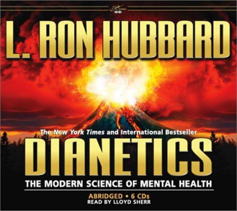 Dianetics es el texto fundamental de la Cienciología,  escrito por L. Ro...
