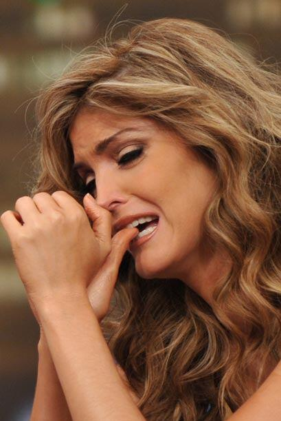 Ana Bárbara ofreció declaraciones conmovedoras.