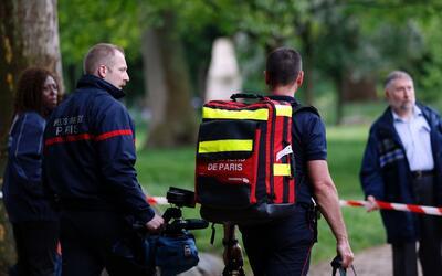 Rayo hiere a once personas en París