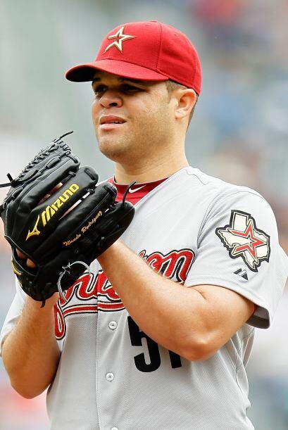 Wandy Rodríguez, de los Astros, (5-3) superó a Bravos y Do...