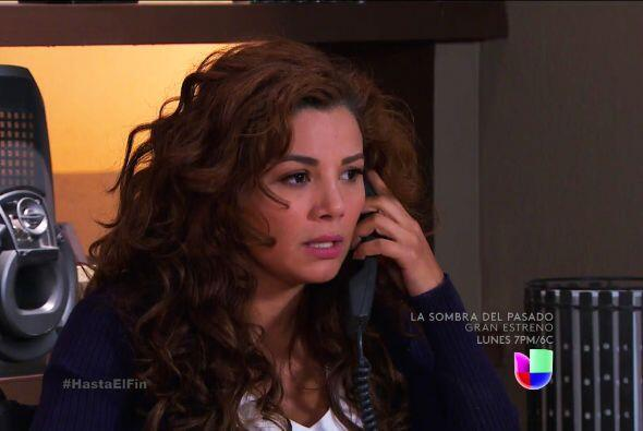 ¿Estás segura que Araceli te ayudará en la demanda?...