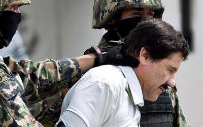 'El Chapo' Guzmán, bajo custodia de autoridades estadounidenses para su...