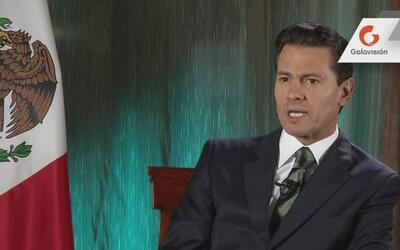 """Enrique Peña Nieto: """"Fui muy claro en que México no pagará el muro"""""""